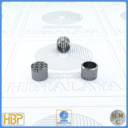 10mm Parallel Slotted Stainless Steel Core Vents