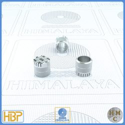 10mm Parallel Slotted Steel Core Vents