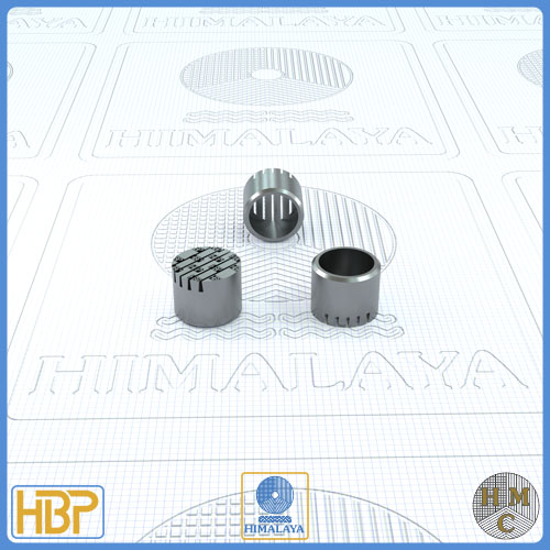 10mm Taper Slotted Stainless Steel Core Vents