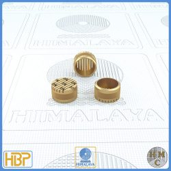 12mm Parallel Slotted Brass Core Vents