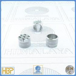 12mm Parallel Slotted Steel Core Vents