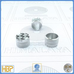 14mm Parallel Slotted Steel Core Vents