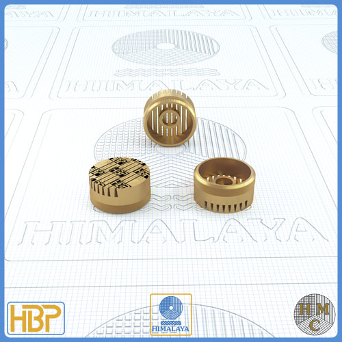 14mm Taper Slotted Brass Core Vents