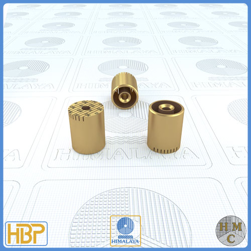 16mm Brass Core Vents with Ejector Drill