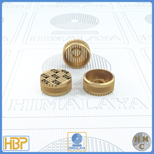 16mm Parallel Slotted Brass Core Vents