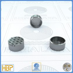 16mm Parallel Slotted Stainless Steel Core Vents