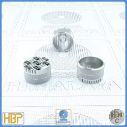 16mm Parallel Slotted Steel Core Vents