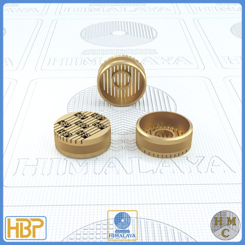 18mm Parallel Slotted Brass Core Vents