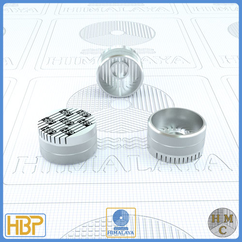 18mm Parallel Slotted Steel Core Vents