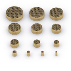 Parallel Slotted Brass Core Vents