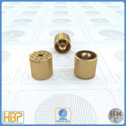20mm Brass Core Vents with Ejector Drill