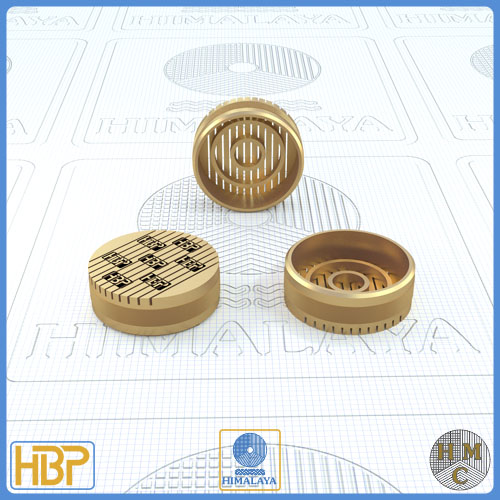 20mm Parallel Slotted Brass Core Vents