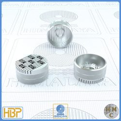 20mm Parallel Slotted Steel Core Vents