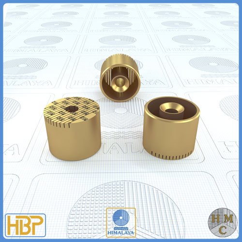 25mm Brass Core Vents with Ejector Drill