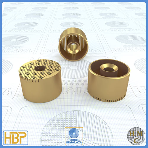 30mm Brass Core Vents with Ejector Drill