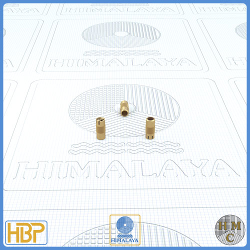3mm Parallel Slotted Brass Core Vents