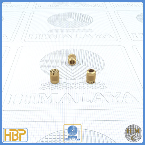 5mm Parallel Slotted Brass Core Vents