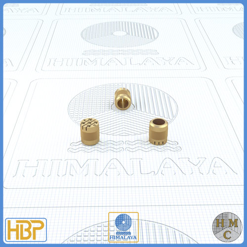 6mm Parallel Slotted Brass Core Vents