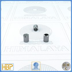 6mm Parallel Slotted Stainless Steel Core Vents