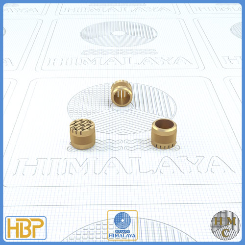 8mm Parallel Slotted Brass Core Vents