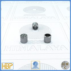 8mm Parallel Slotted Stainless Steel Core Vents