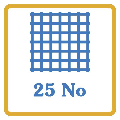 25 Nos Screen Mesh Vents