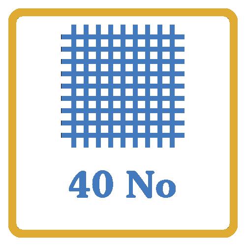 40 Nos Screen Mesh Vents