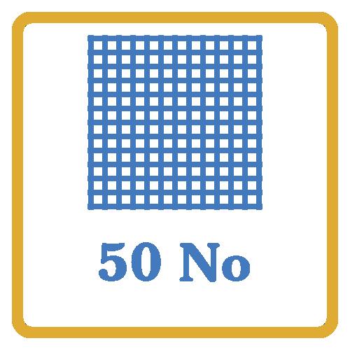 50 Nos Screen Mesh Vents