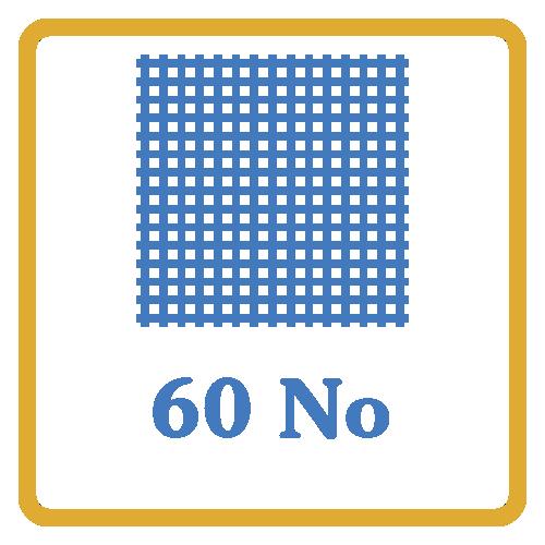 60 Nos Screen Mesh Vents by Himalaya