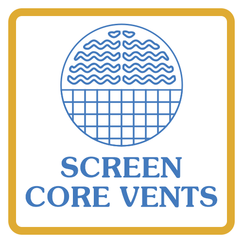 Screen Core Vents by Himalaya Metal Components