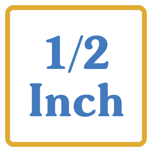 1/2 Inch Core Vents