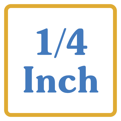 1/4 Inch Core Vents