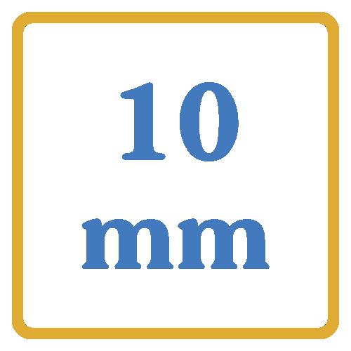 10 mm core vents