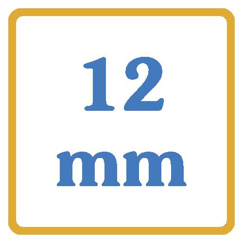 12 mm core vents