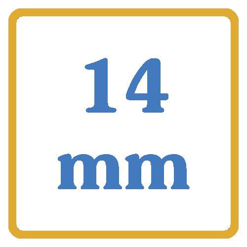 14 mm core vents