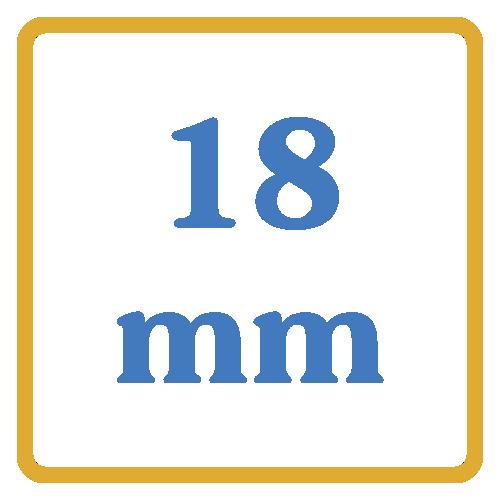 18 mm core vents