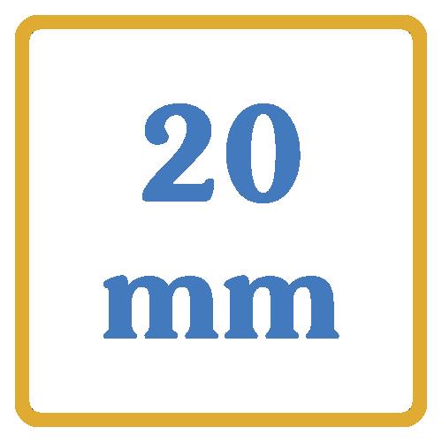 20 mm core vents