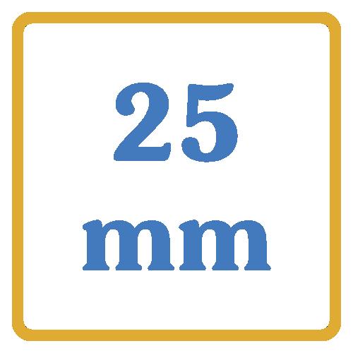 25 mm core vents