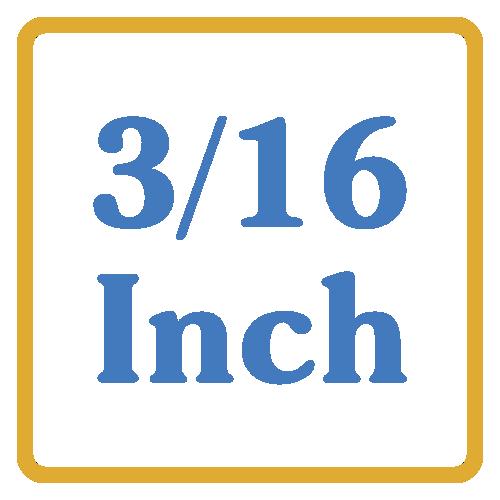 3-16 Inch Core Vents