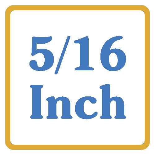 5/16 Inch core vents
