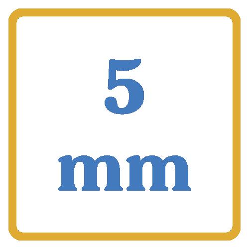 5 mm core vents