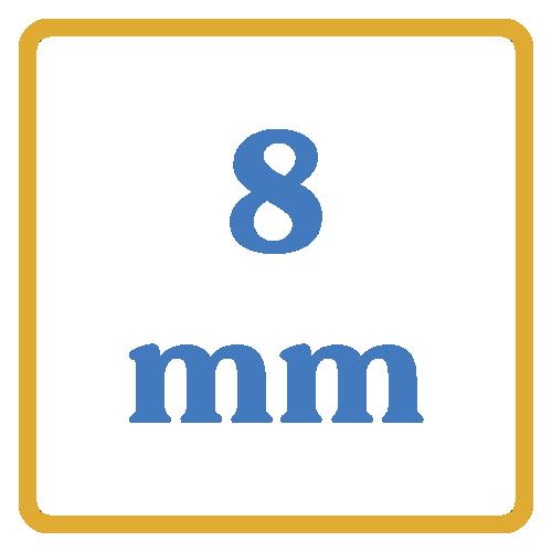 8mm core vents