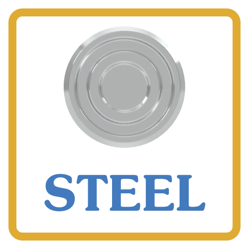 Steel core vents