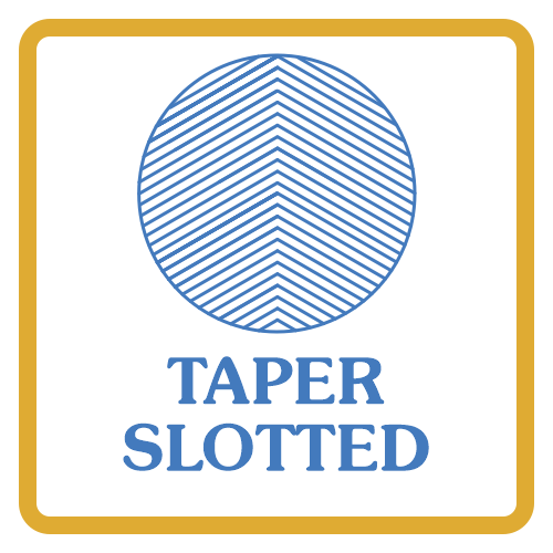 Taper Slotted Core Box Vents