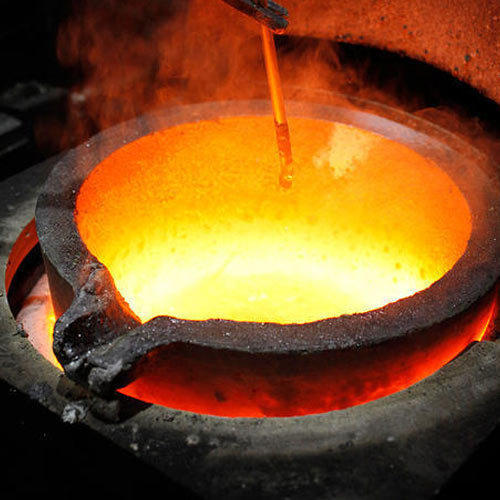 Furnace in a foundry